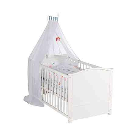 LITTLE WORLD Komplett-Kinderbett VOGELGLÜCK 70 x 140 cm