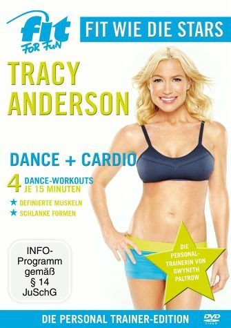 DVD »Fit for Fun - Fit wie die Stars: Tracy...«