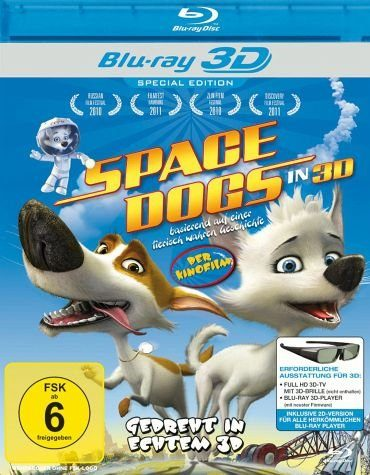 Blu-ray »Space Dogs (Blu-ray 3D)«