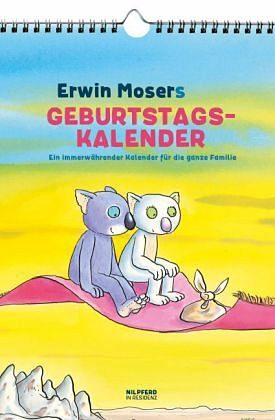 Kalender »Erwin Mosers Geburtstagskalender«