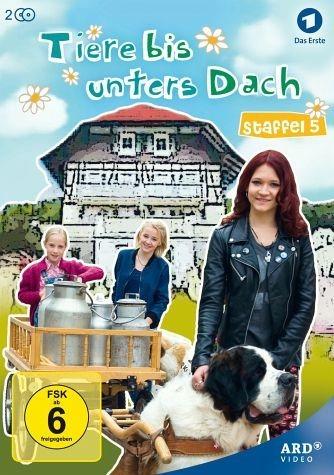 DVD »Tiere bis unters Dach - Staffel 5 (2 Discs)«