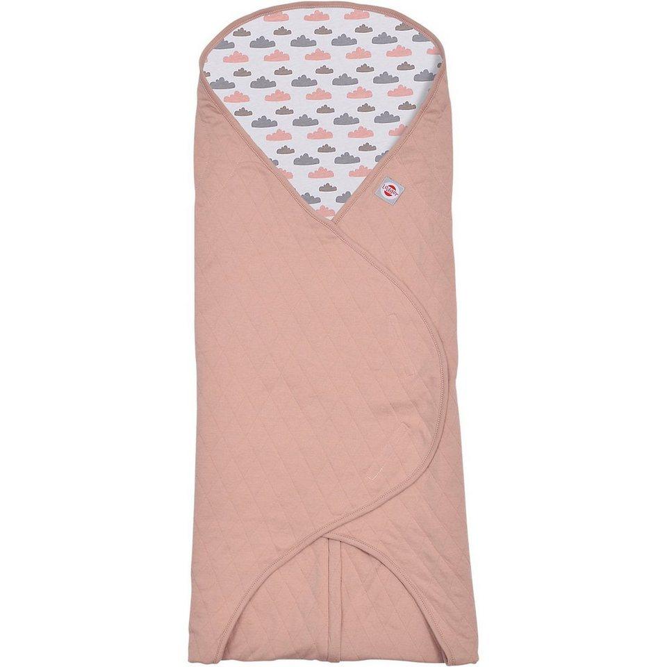 Lodger Einschlagdecke für Babyschalen, rosa in rosa