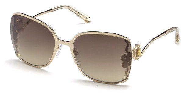 Roberto Cavalli Damen Sonnenbrille » RC1012« in 28G - gold/braun