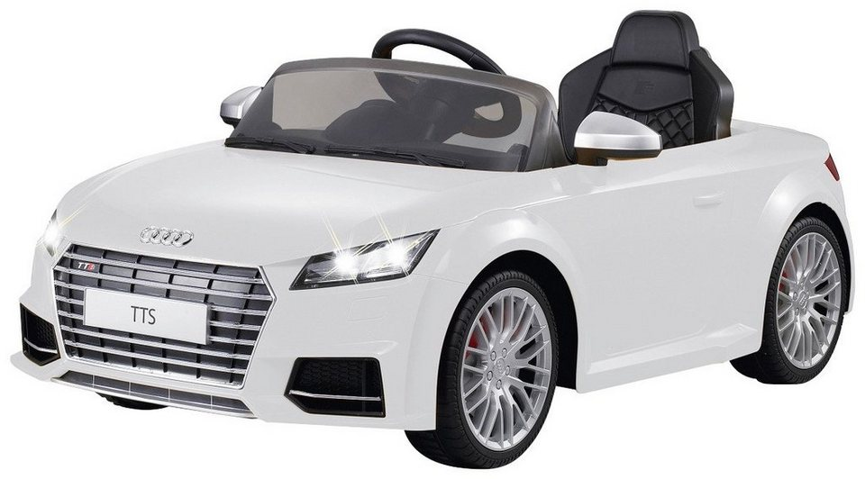 Elektro Kinderauto »Ride-On Audi TTS Roadster« in weiß 2,4 GHz in weiß