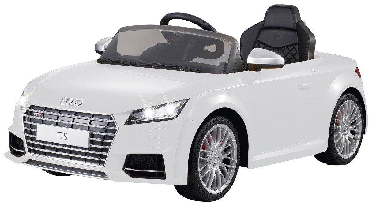JAMARA KIDS Elektroauto »Ride-On Audi TTS Roadster«, weiß, inkl. Fernsteuerung
