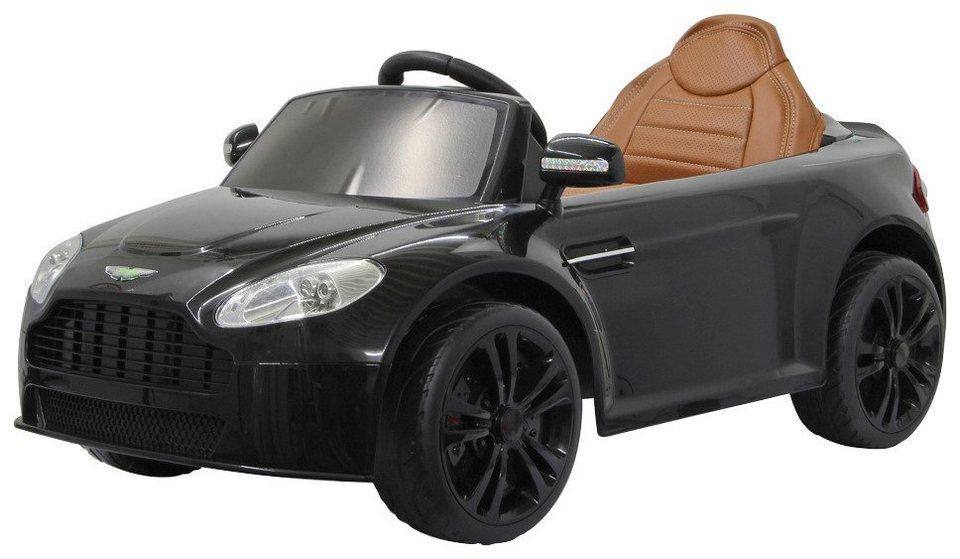 Elektro Kinderauto »Ride-On Aston Martin Vantage Premium« in schwarz 2,4GHz in schwarz
