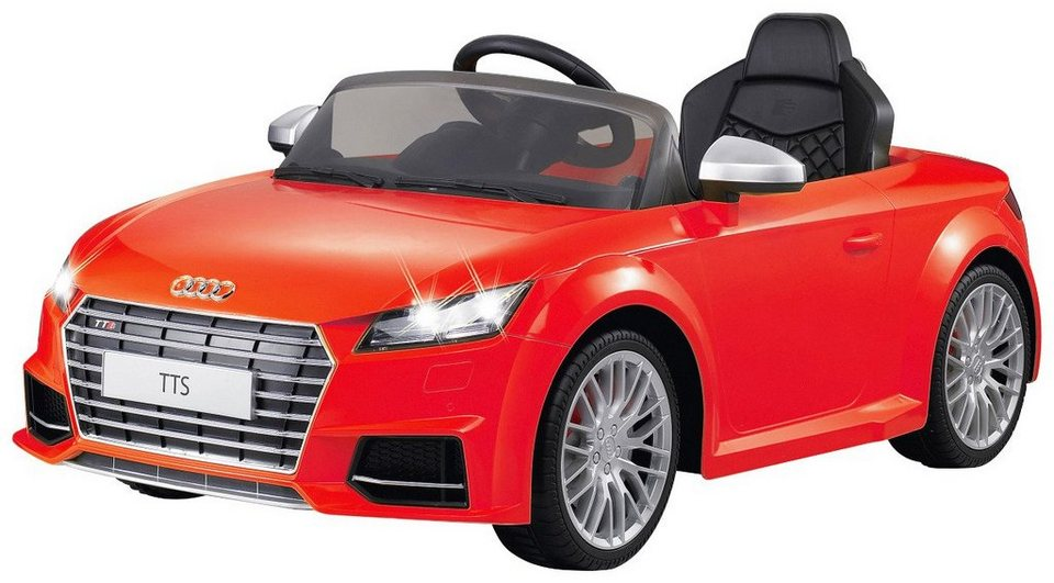 jamara elektroauto ride on audi tts roadster f r kinder. Black Bedroom Furniture Sets. Home Design Ideas