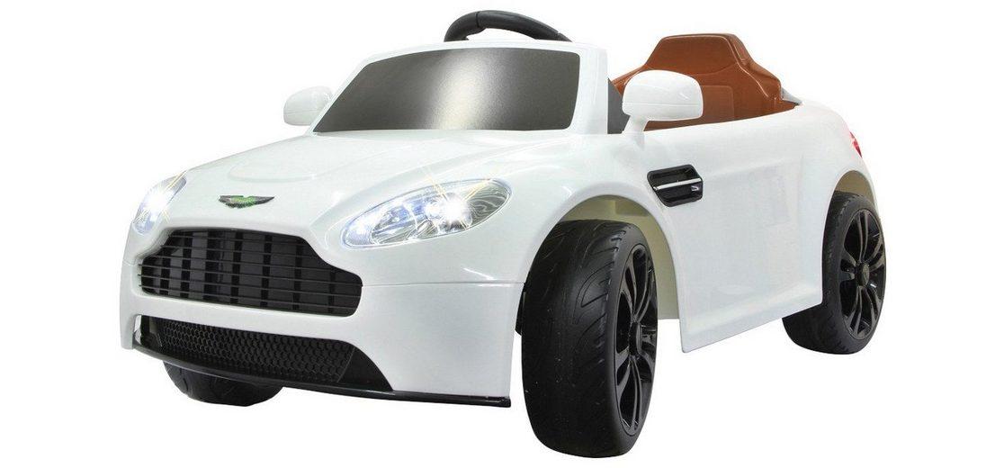 Elektro Kinderauto »Ride-On Aston Martin Vantage Premium« in weiß 2,4GHz