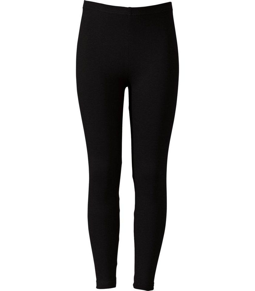 TRIGEMA Leggings Baumwolle/Elastan in schwarz