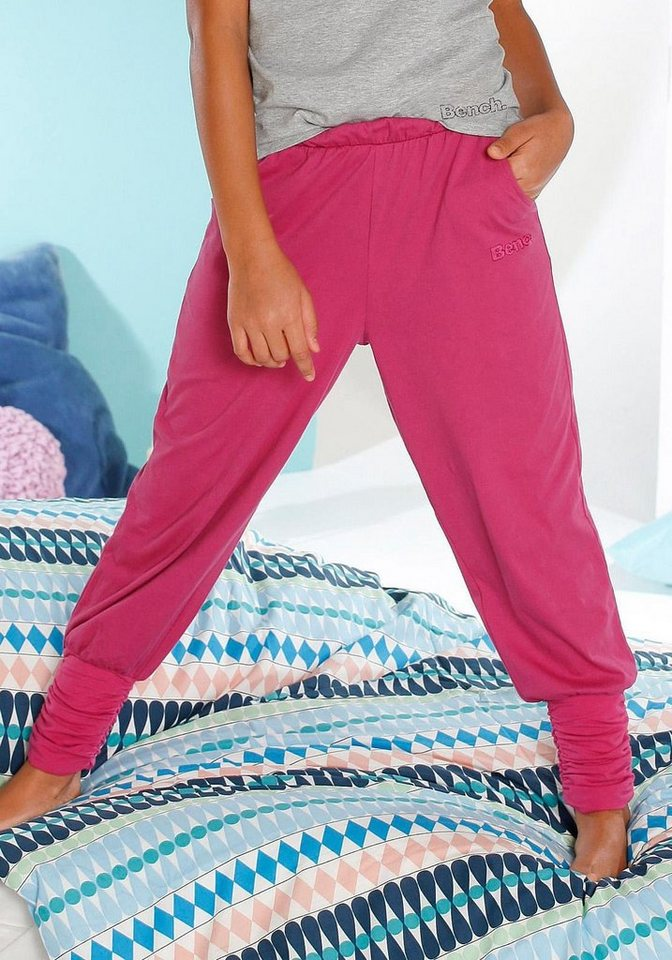 Bench Harems-Relaxhose in pink