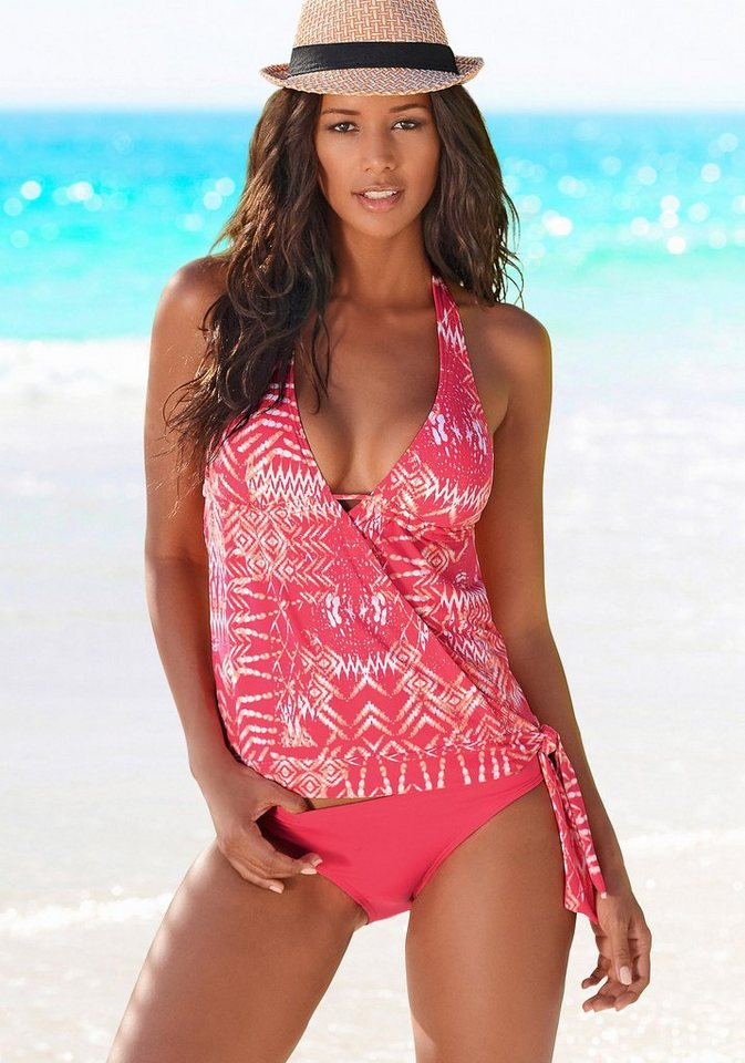 s oliver red label beachwear tankini mit zierschleife online kaufen otto. Black Bedroom Furniture Sets. Home Design Ideas