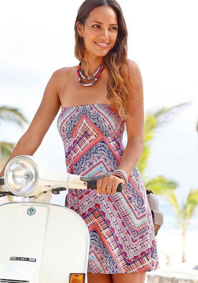 s.Oliver RED LABEL Beachwear Strandkleid in bedruckt