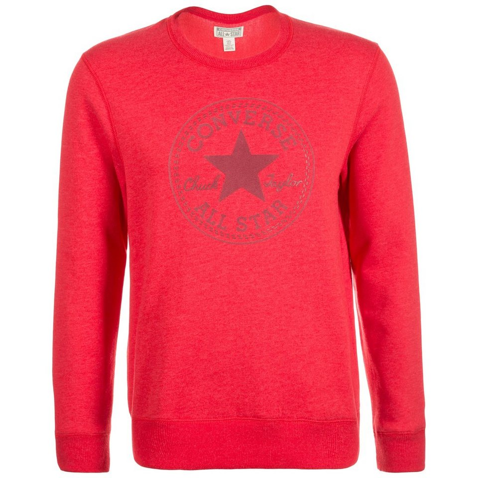 CONVERSE Elevated CP Crew Sweatshirt Herren in rot