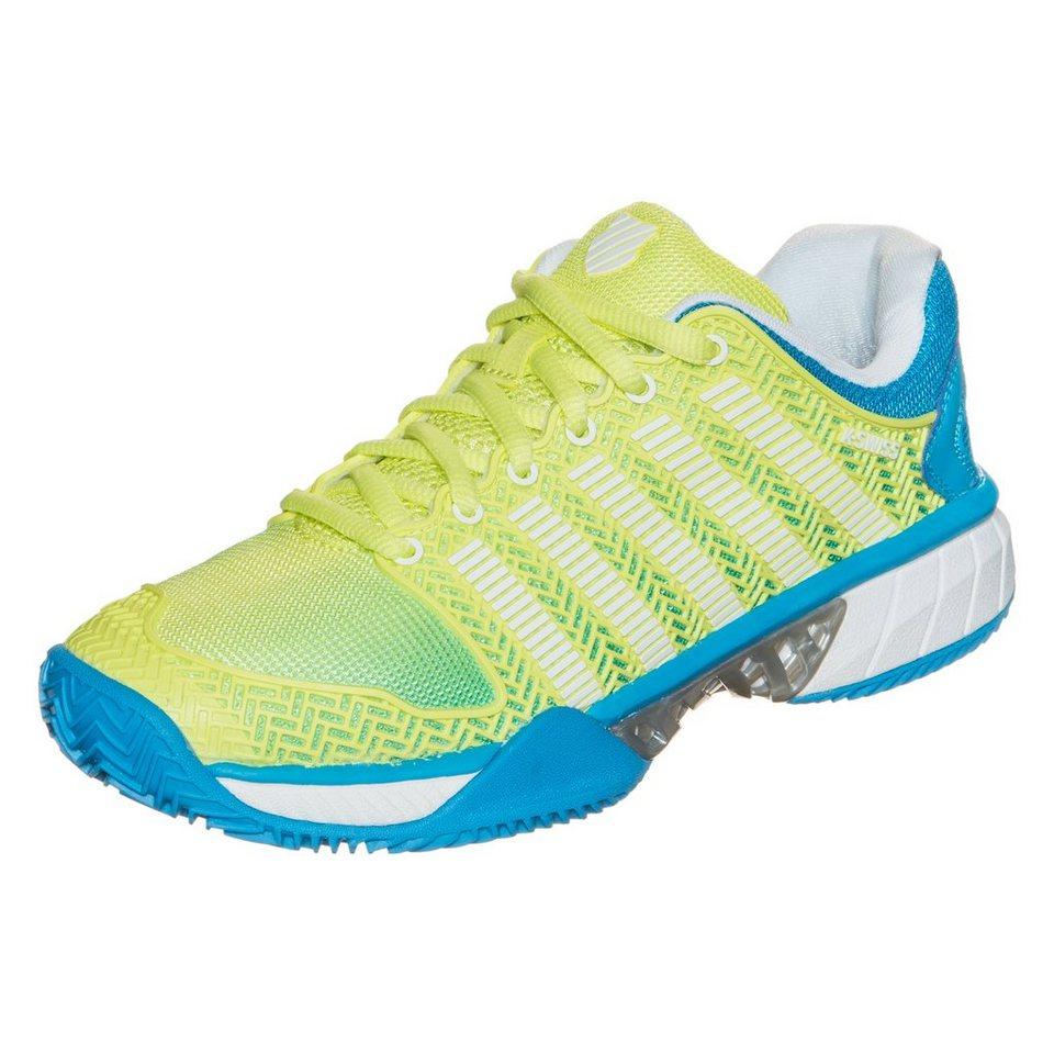 K-SWISS Hypercourt Express Tennisschuh Damen in gelb / blau