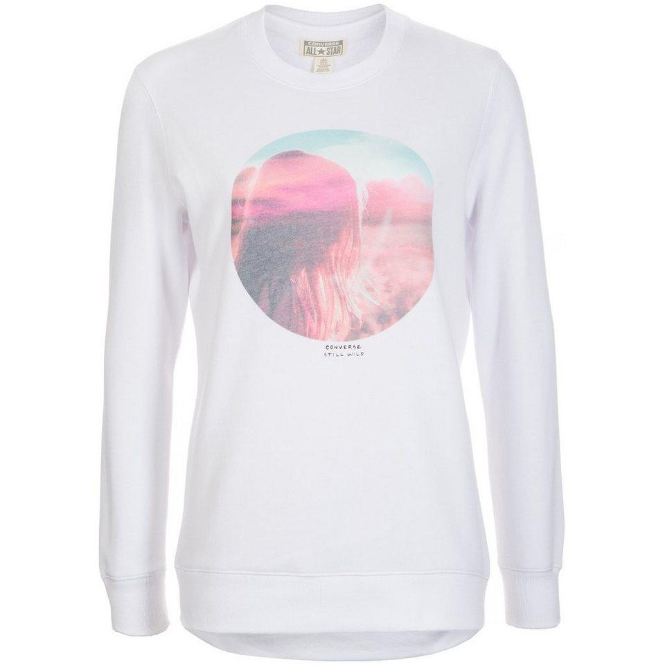 CONVERSE Graphic Tunic Sweatshirt Damen in weiß