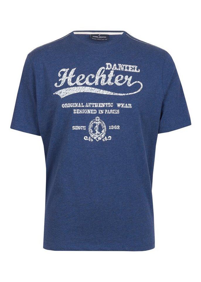 Daniel Hechter T-Shirt »Aude« in bluegrey