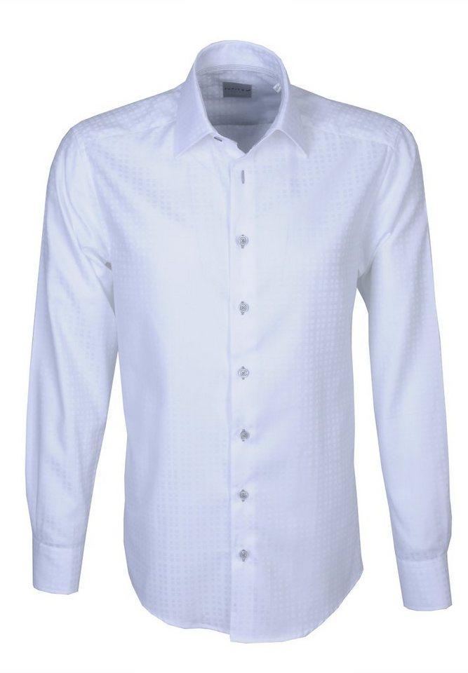 Jupiter Businesshemd »Uni« in weiß