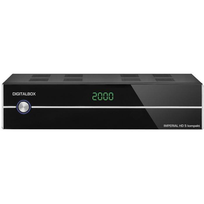 IMPERIAL HDTV Satellitenreceiver »HD 5 kompakt« in schwarz