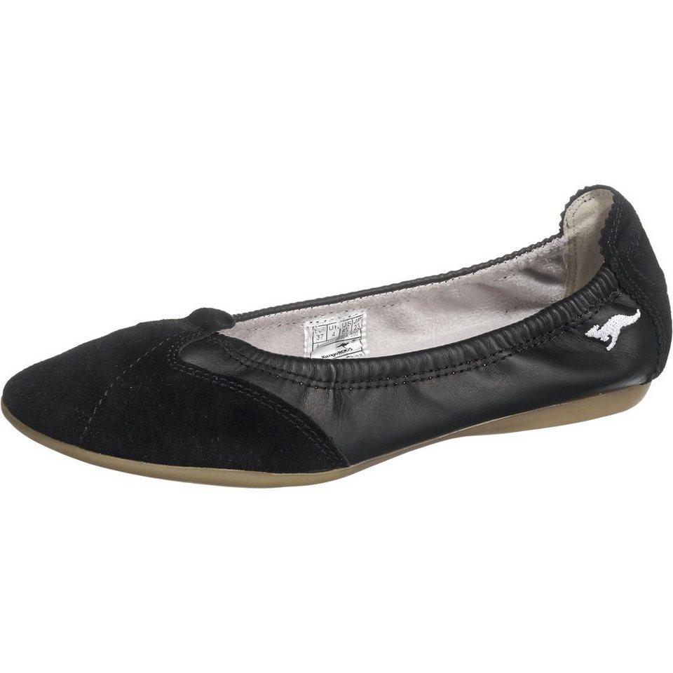 KangaROOS Amalie Ballerinas in schwarz