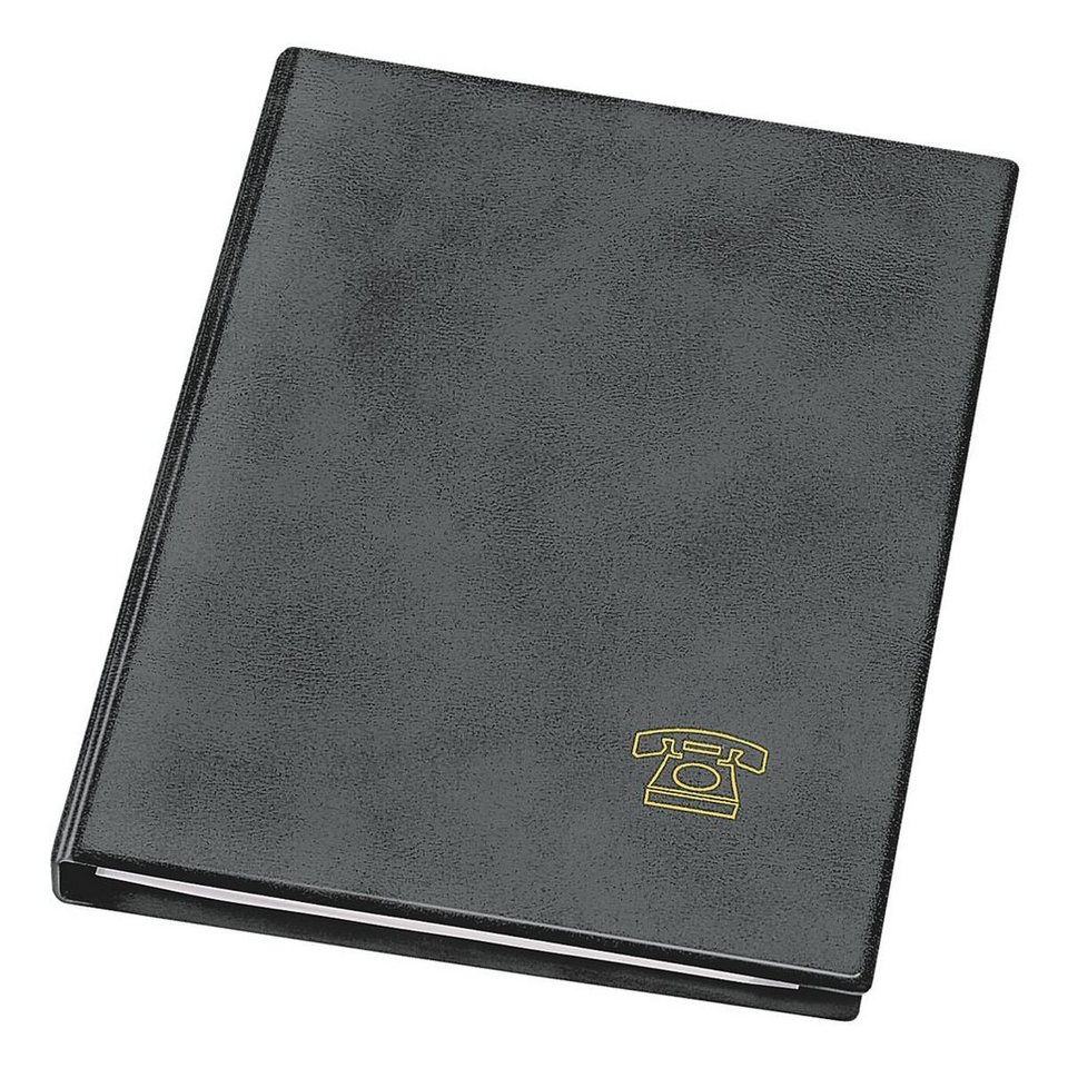 Veloflex Telefonringbuch in schwarz