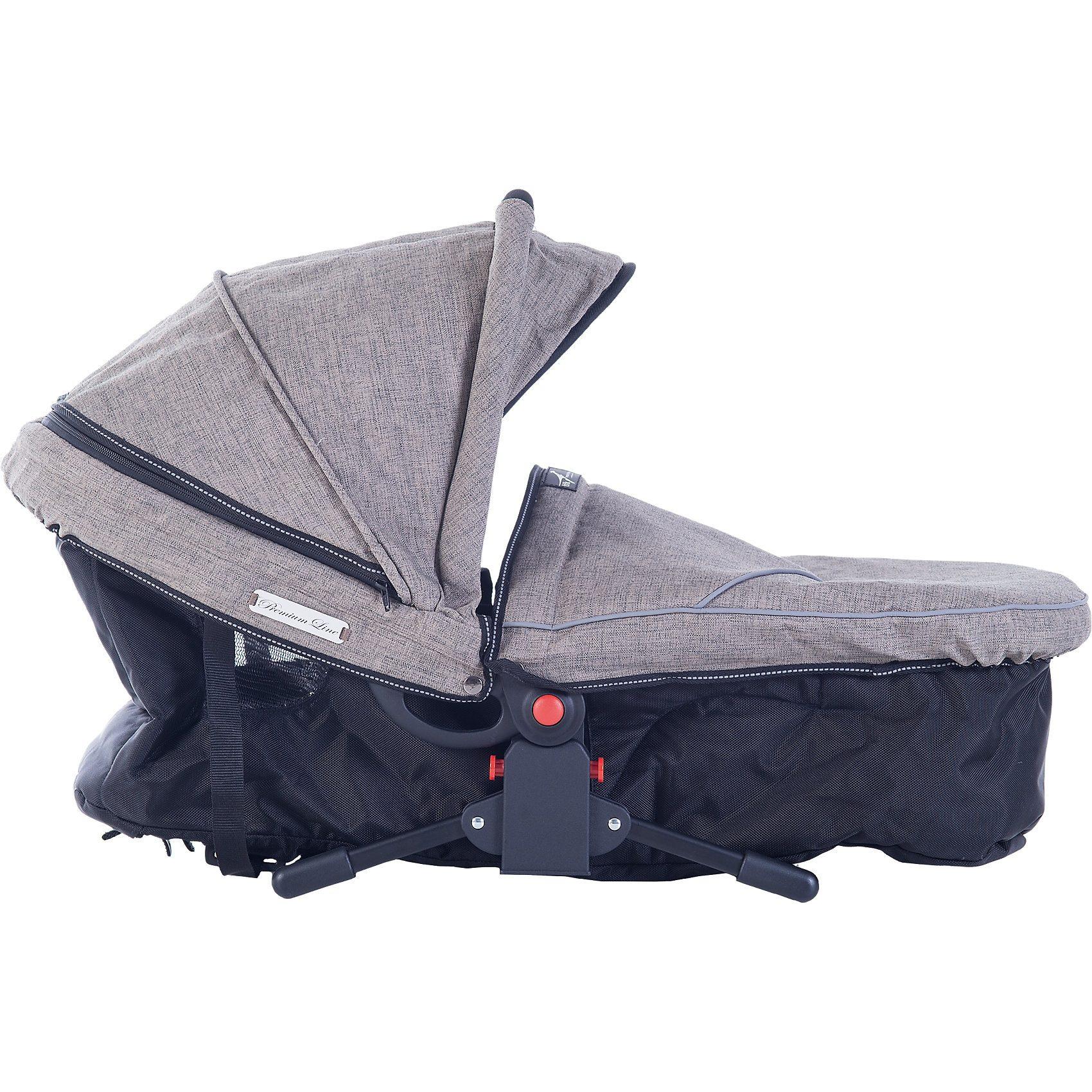 TFK Kinderwagenaufsatz Multi X, Premium, schlamm