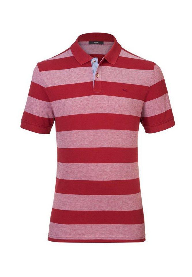 BRAX Herrenpoloshirt »PIERO« in SANGRIA