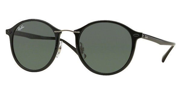 RAY BAN RAY-BAN Sonnenbrille »Round Ii Light Ray RB4242«, lila, 60342Y - lila/rosa