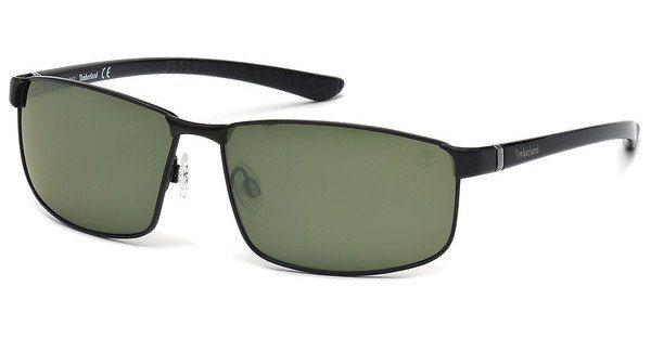 Timberland Herren Sonnenbrille » TB9035« in 02R - schwarz/grün