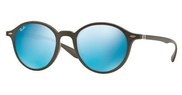 RAY-BAN Sonnenbrille » RB4237« in 620617 - grau/blau