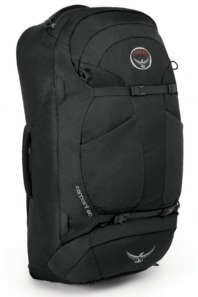Osprey Sport- und Freizeittasche »Farpoint 80 Backpack M/L« in grau