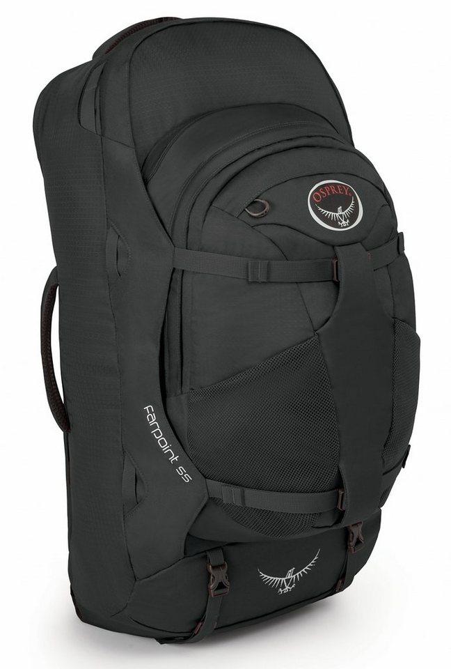 Osprey Sport- und Freizeittasche »Farpoint 55 Backpack M/L« in grau