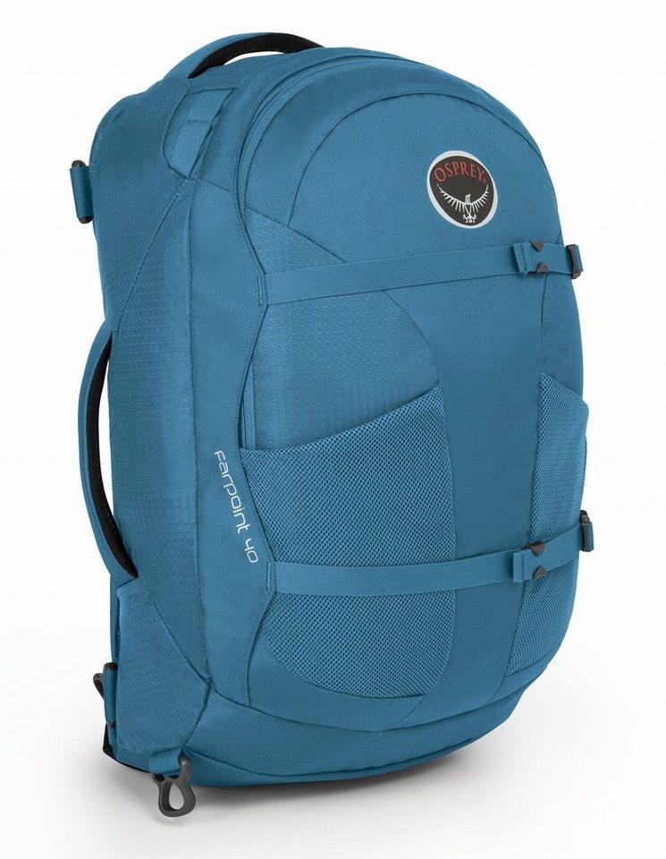 Osprey Sport- und Freizeittasche »Farpoint 40 Backpack M/L« in blau