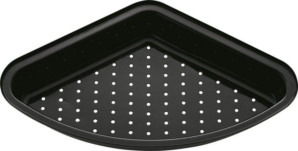 RÖSLE Barbecue-Garschale, gelocht in schwarz