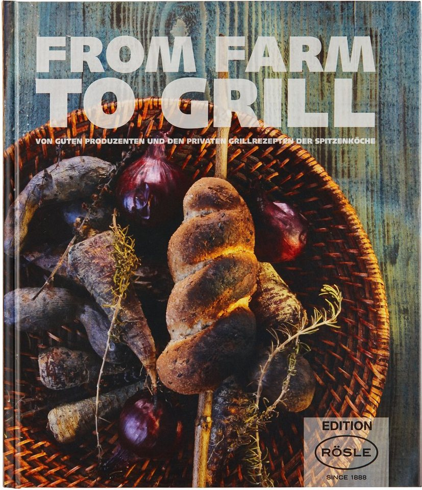 RÖSLE Grillbuch, »FROM FARM TO GRILL« in bunt