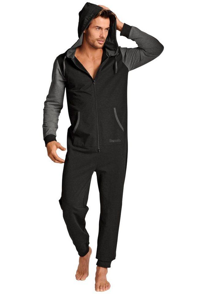 Bench Jumpsuit in 1x schwarz-grau
