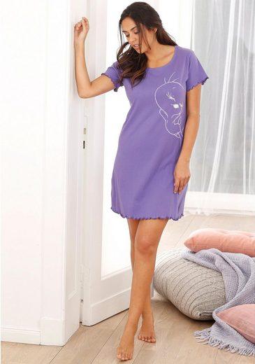 Tweety Nachthemd mit großem Tweety-Druck