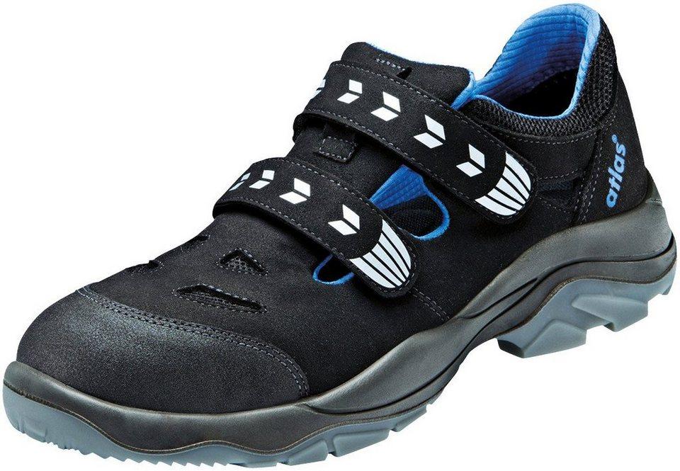 Sicherheitssandale »Alu Tec 360« in schwarz/blau