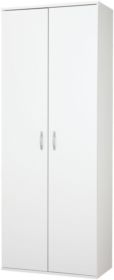 Mehrzweckschrank, 2 Tür in weiß