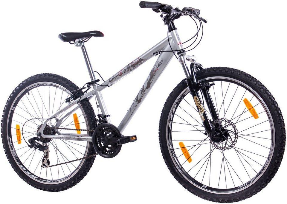 Dirtbike »ONE grau-blau, 66,04 cm (26 Zoll)« in grau