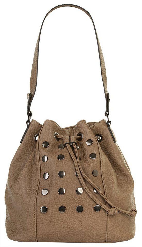 ELLE Damen Handtasche »Rock« in taupe
