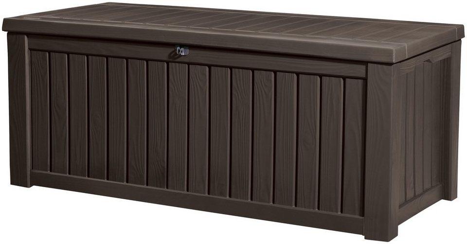 auflagenbox 155x64x72 cm kunststoff braun otto. Black Bedroom Furniture Sets. Home Design Ideas