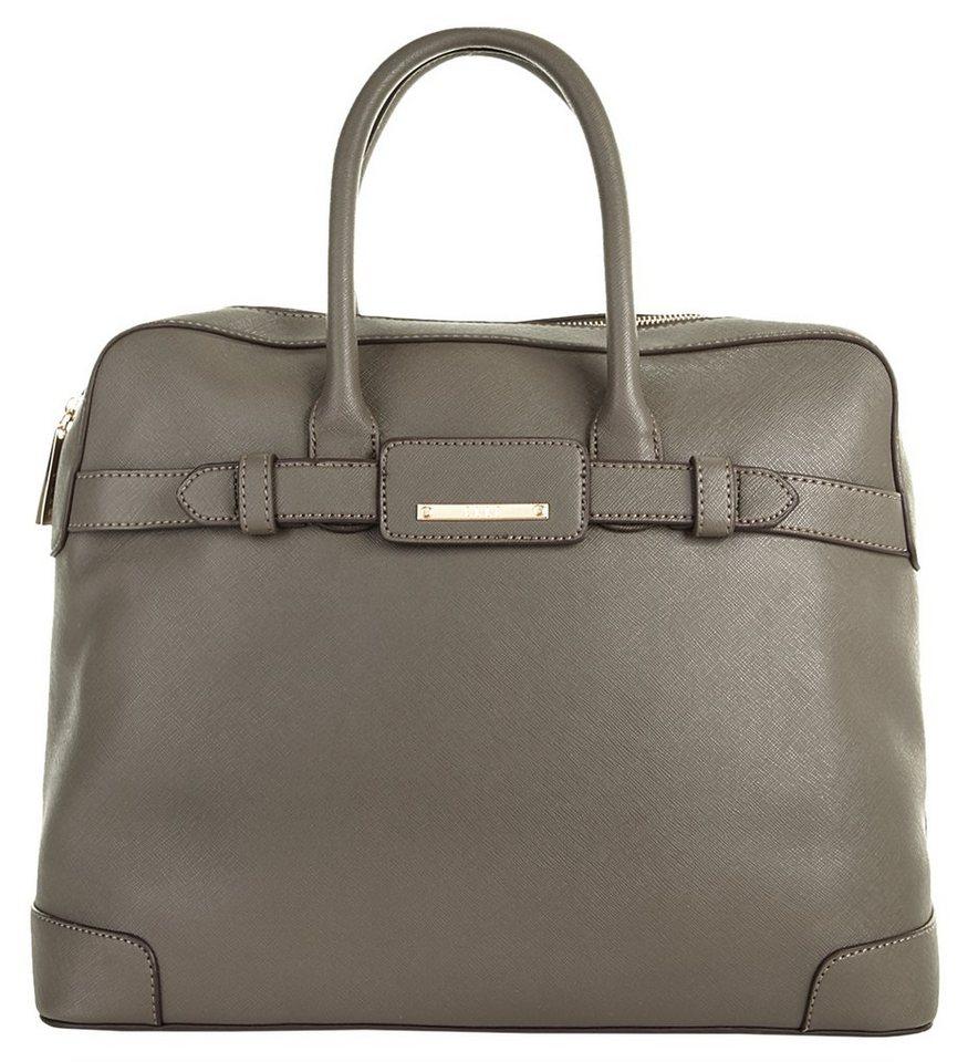 ELLE Damen Handtasche »Saffiano« in grau