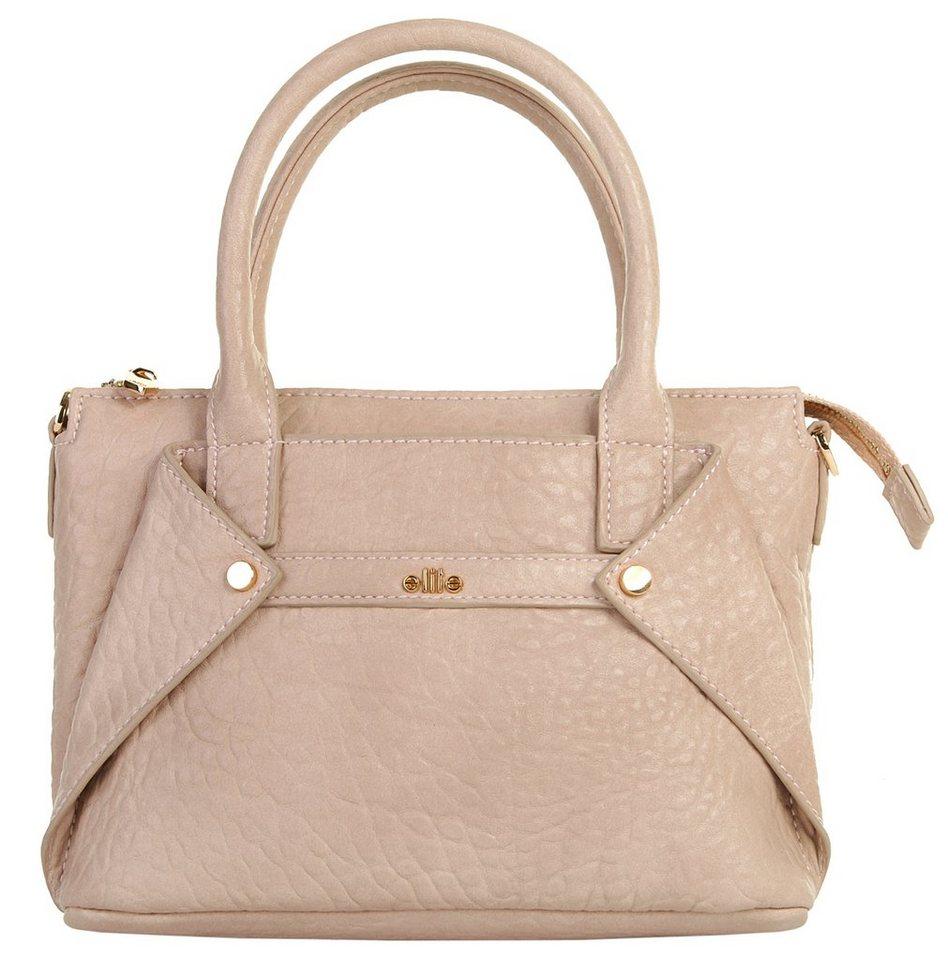 ELITE MODEN Damen Handtasche »Maxine« in alt-rosa