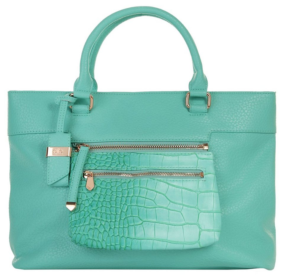 ELITE MODEN Damen Handtasche »Lana« in türkis