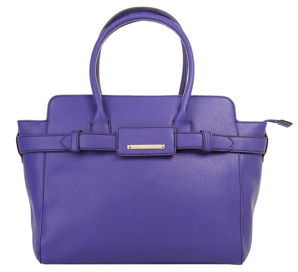 ELLE Damen Handtasche »Saffiano« in blau