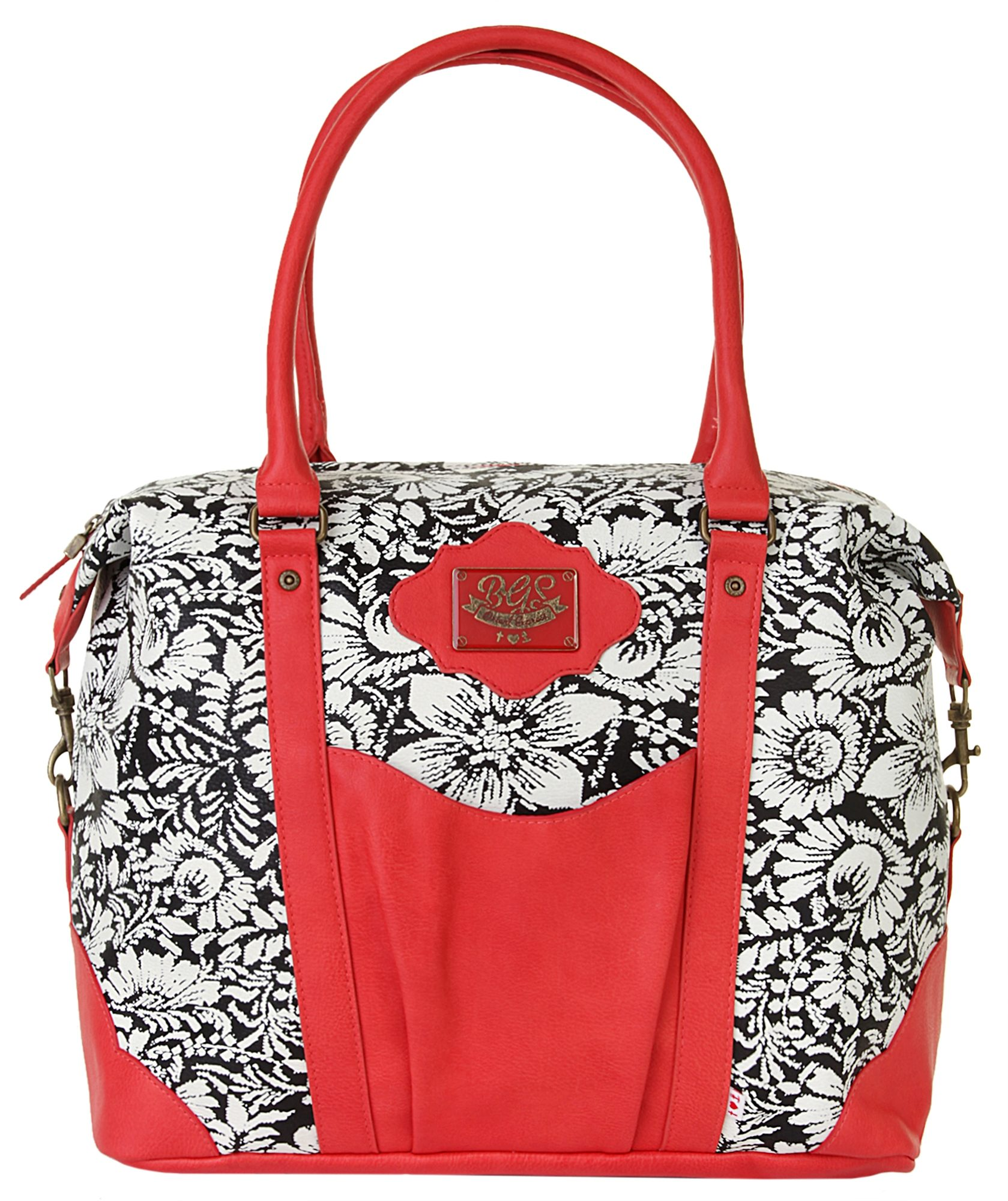 blutsgeschwister Damen Weekender »travel fever carpetbag«
