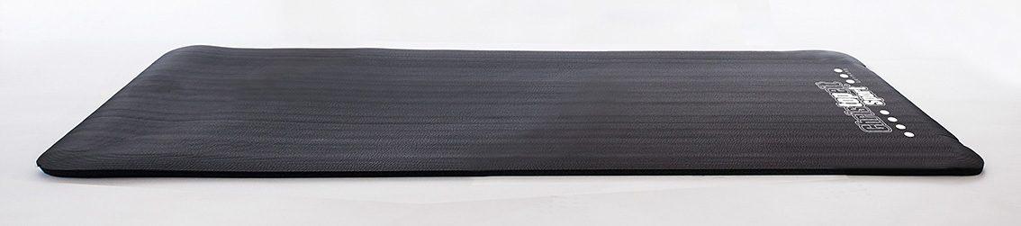 Christopeit Sport® NBR-Fitnessmatte, 185 cm x 81 cm, schwarz