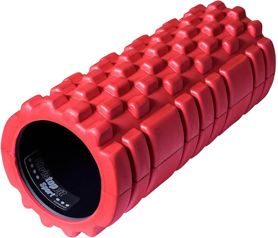 Christopeit Sport® Massagerolle, rot in rot