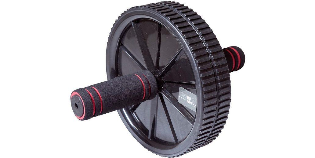Christopeit Sport® AB-Fitness Roller, schwarz-rot