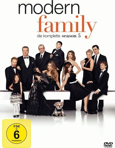 DVD »Modern Family - Die komplette Season 5 (3 Discs)«